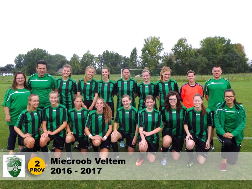 2016-2017 Miecroob Veltem B - 2e Prov Brabant