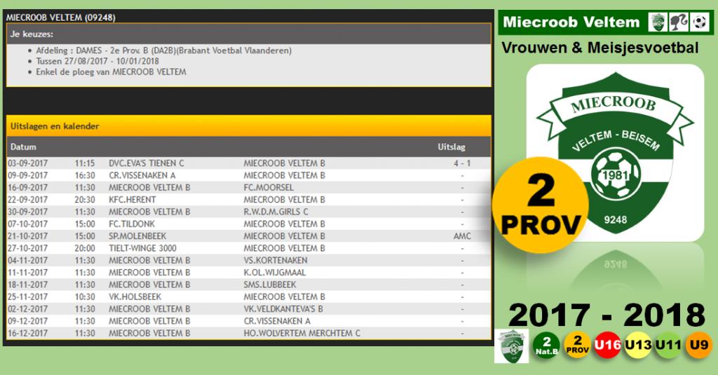 2017-2018 Prov 2 sep-okt-nov-dec